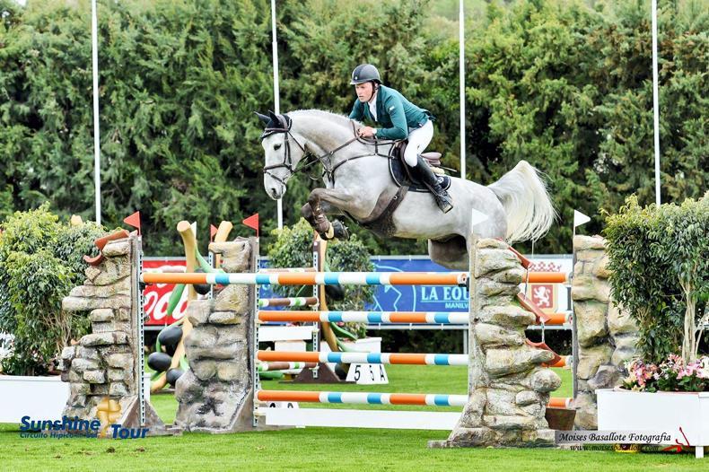 INTERNATIONAL: O'Neill runner-up in Hickstead