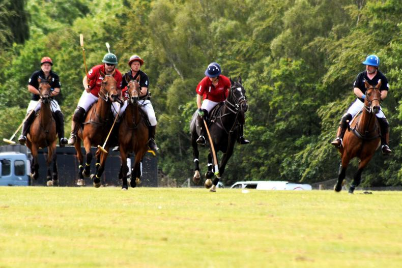 POLO:  Weather brings season opener to a draw