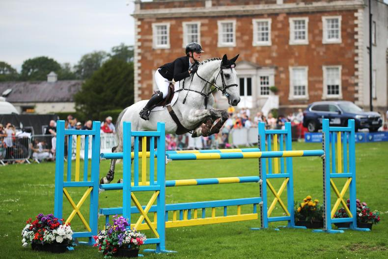 SHOW JUMPING: Burke makes most of Kashino catch ride