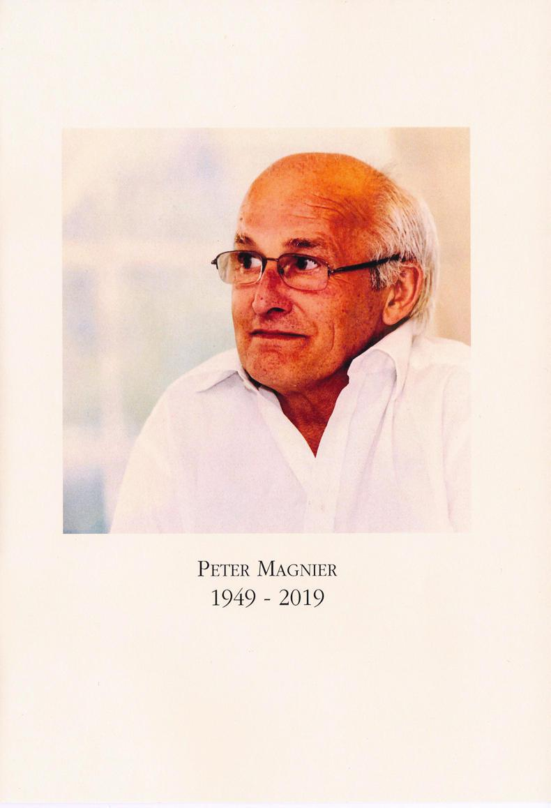Peter Magnier: A man who faced and overcame life's challenges