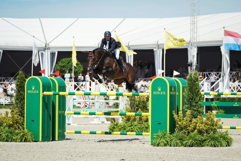 INTERNATIONAL: Kenny lands €500,000 Rolex Grand Prix