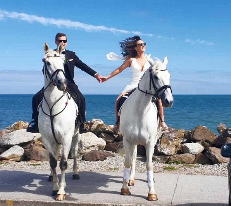 PONY TALES: Mr and Mrs Dennehy