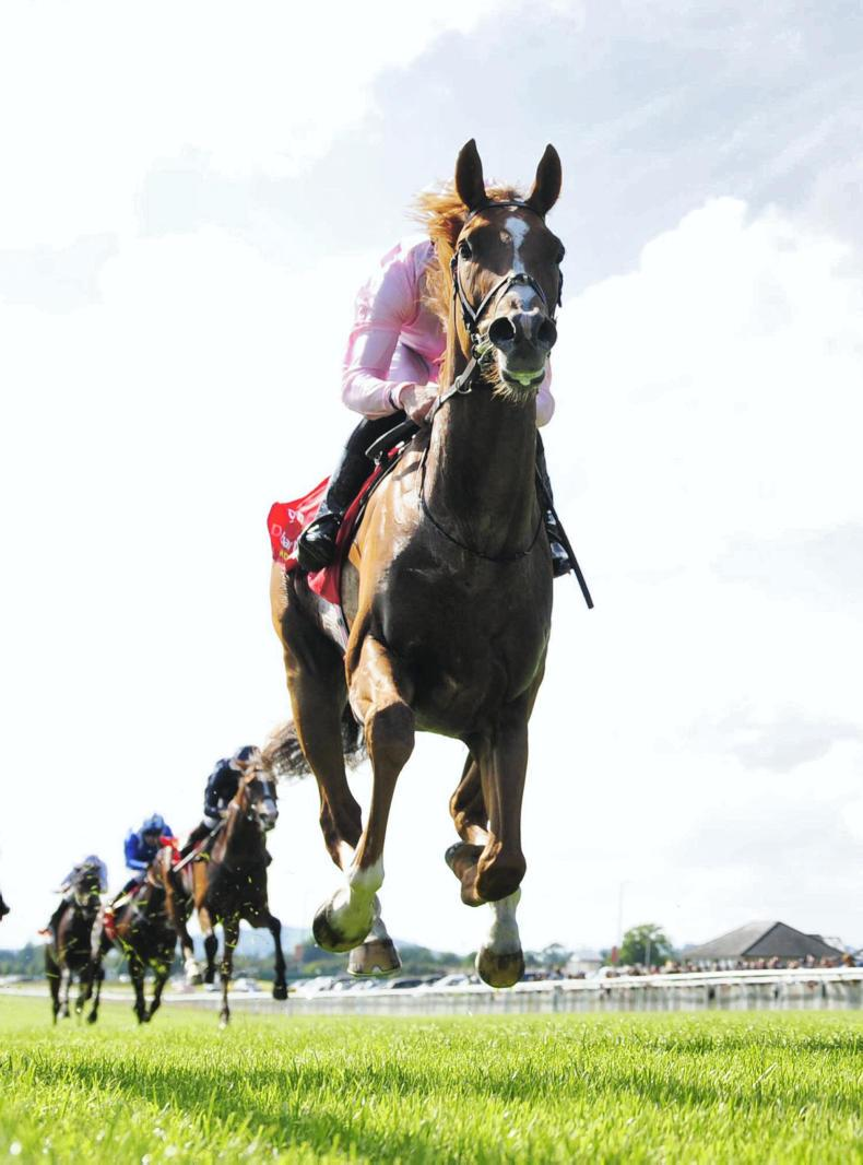 CURRAGH SATURDAY: Beggy brings up Derby double in Sovereign surprise