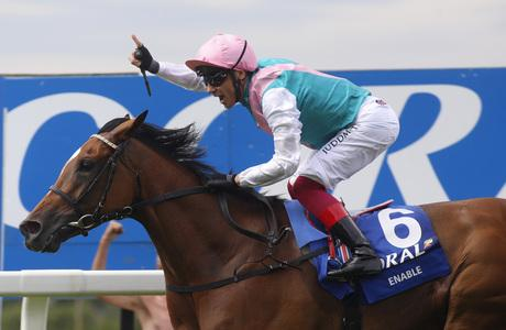 Magnificent Enable returns in style to land Eclipse glory