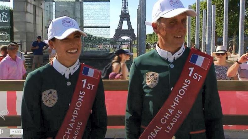 SHOW JUMPING: Shane Breen and Jessica Springsteen rock to victory in Paris