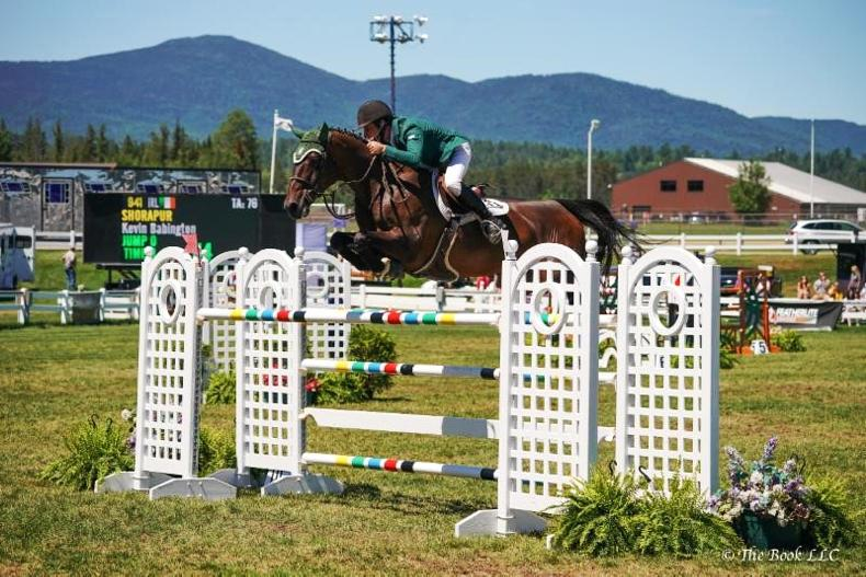 SHOW JUMPING:  Babington in clean sweep of $100,000 Grand Prix