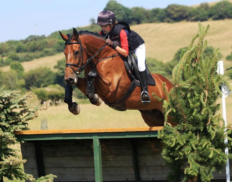 EVENTING:  My Good Thyne Girl delivers for Morrow