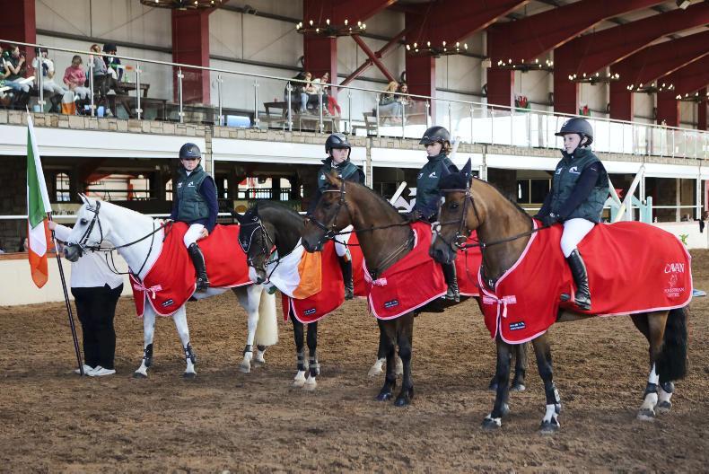 IRISH HORSE WORLD FIXTURES, JULY 13th 2019