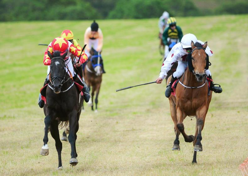 PONY RACING: King of the day with four-timer