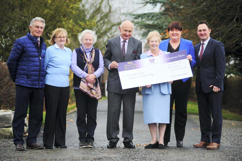 NEWS:  Tatts July Show raises over €75,000 for charity