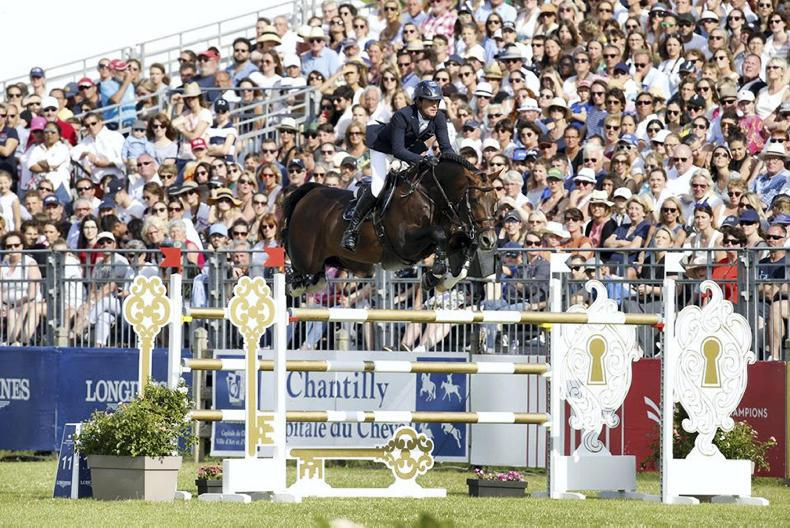 SHOW JUMPING: Darragh Kenny wins €300,000 Global Tour Grand Prix at Chantilly
