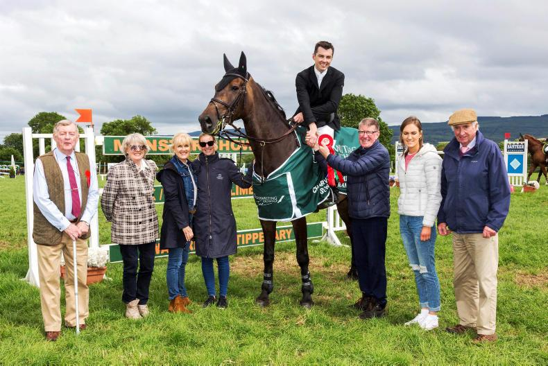 SHOW JUMPING:  O'Regan's Freedam proves the one to beat