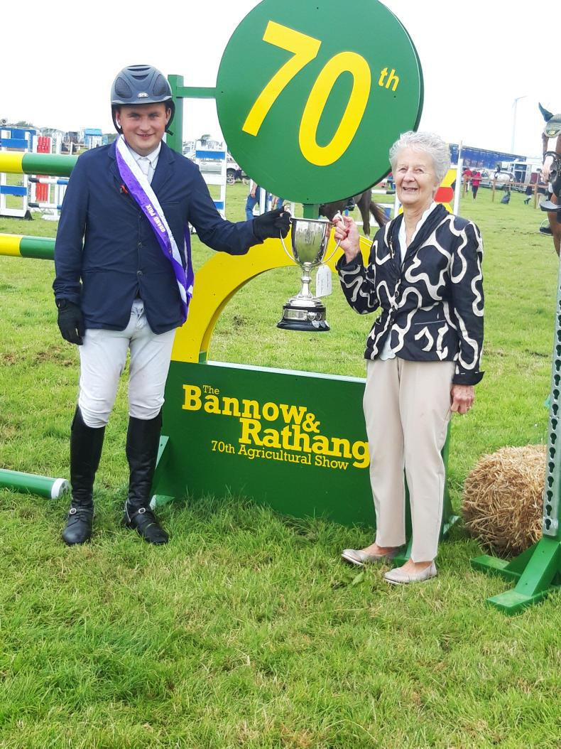 SHOW JUMPING:  Grand Prix honours for Hadley