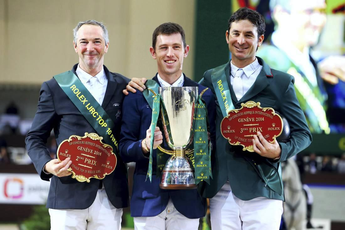 World number one Scott Brash cements his position as leading rider