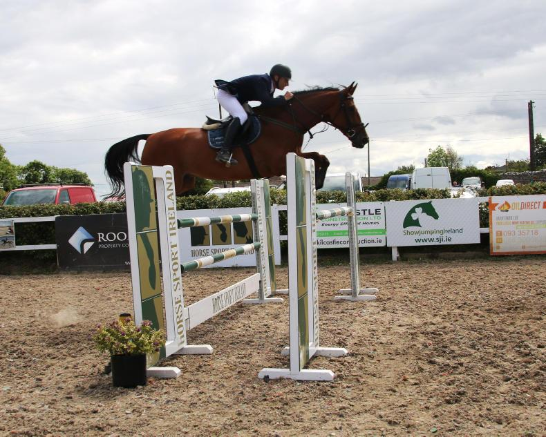 SHOW JUMPING:  McConnell triumphs with Longfield Quinlui