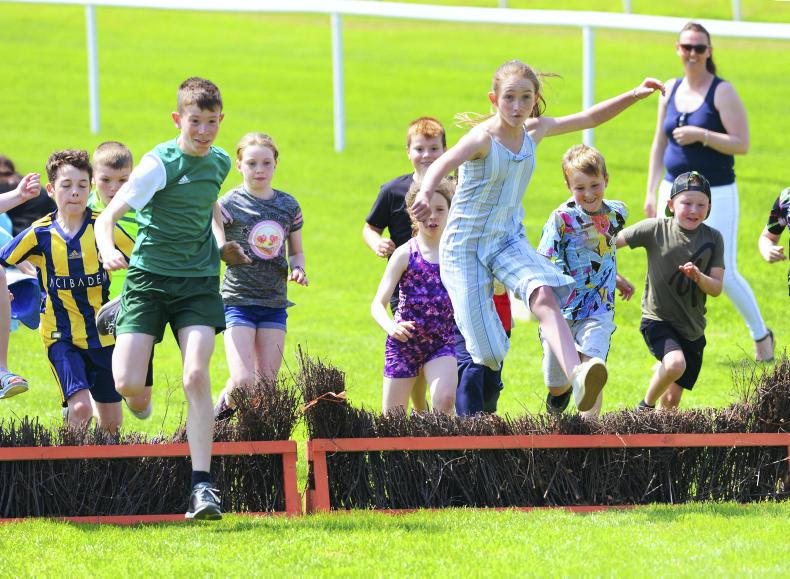 MARGIE McCLOONE: Fun and games at Downpatrick