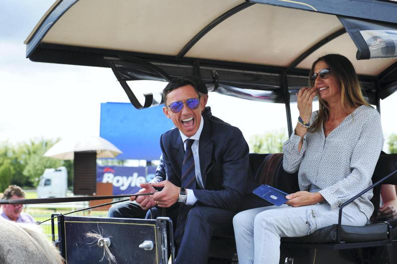 FRANKIE DETTORI: No dismounts but Frankie's flying at Killarney