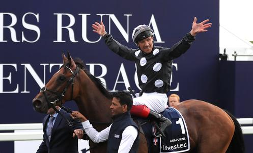 Yorkshire Oaks may fit bill for Anapurna