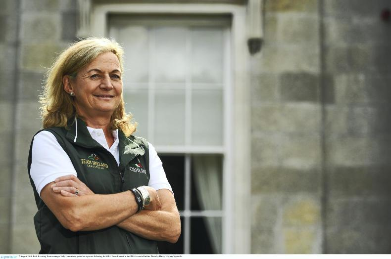 EVENTING:  Irish team for Camphire named