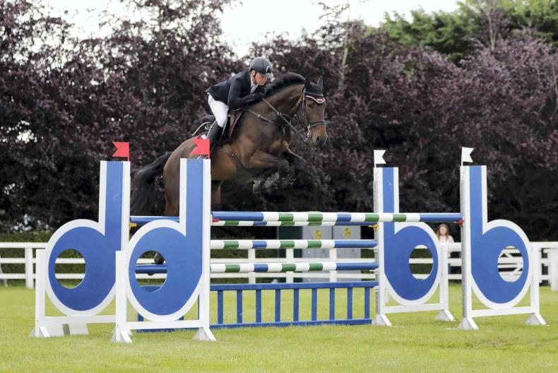 SHOW JUMPING:  Treble win sees Carberry dominate
