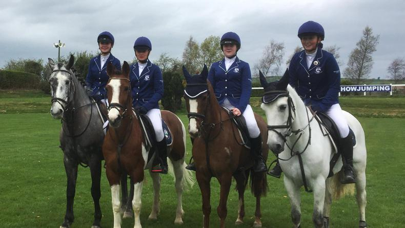 PONY TALES:  Hickstead outing for Blessington team