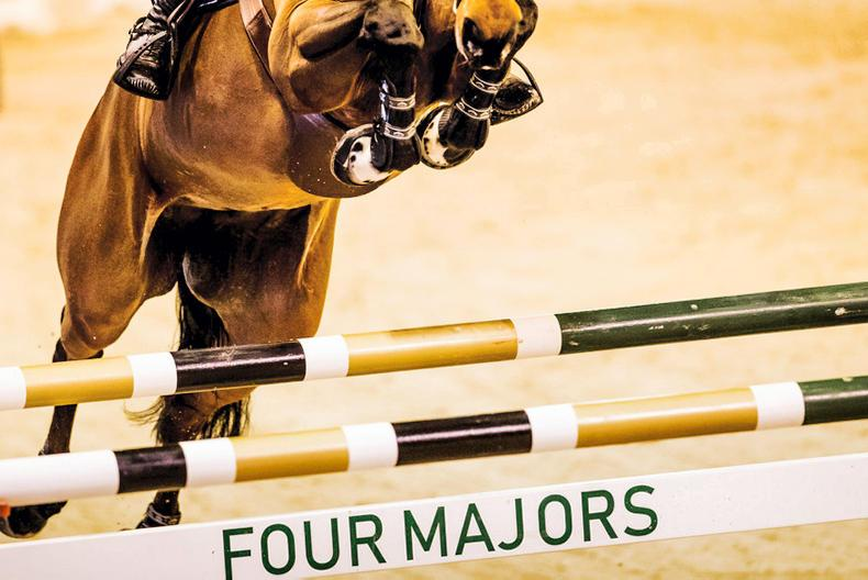 INTERNATIONAL: Irish show jumpers holding their own