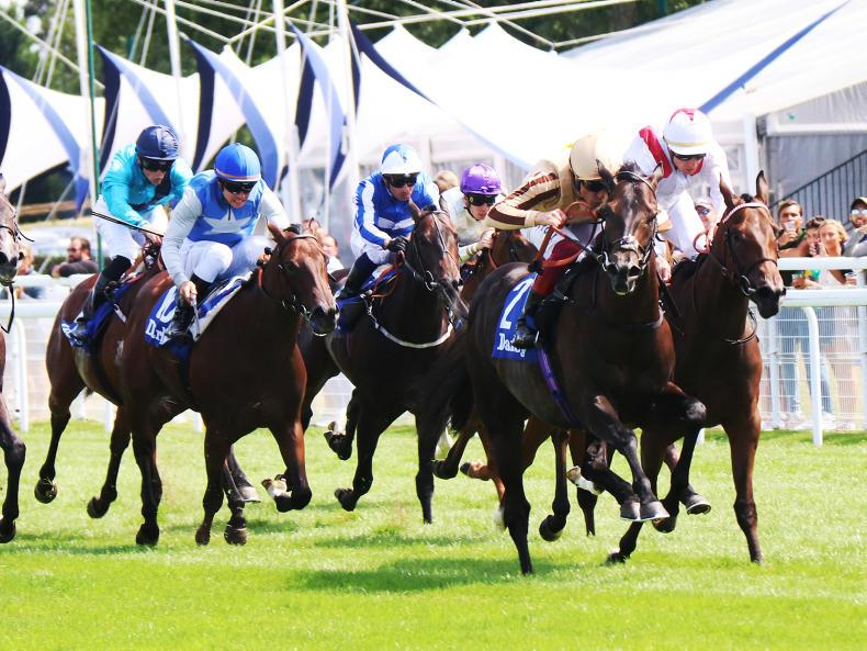 FRANCE: Dettori delivers Ali's knockout punch in Papin
