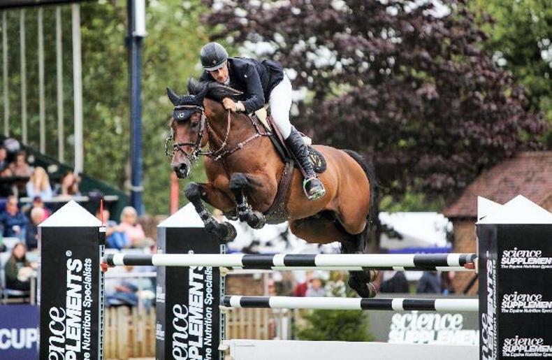 SHOW JUMPING:  Gentleman gives Simpson his second Queen's success