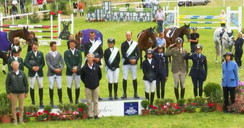 EVENTING: Irish team Nations Cup runners-up at Camphire