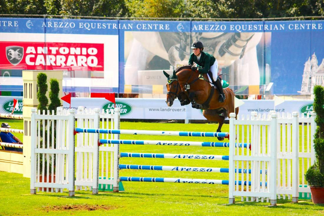Junior riders battle hard in competitive division