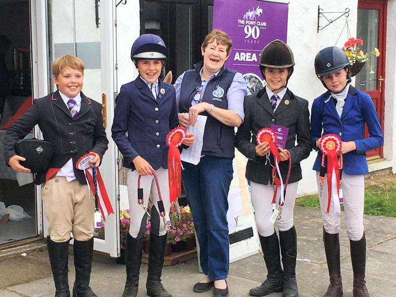 PONY CLUB: Repeat victory for McKribbin