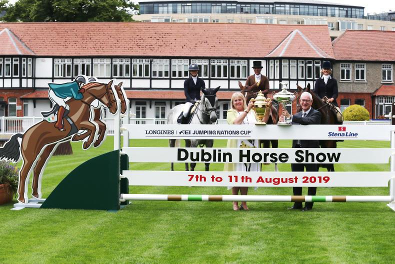 DUBLIN HORSE SHOW PREVIEW:  Stena on the crest of a wave