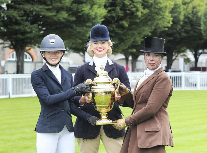 DUBLIN HORSE SHOW PREVIEW:  Celebrating a century of lady riders at Dublin
