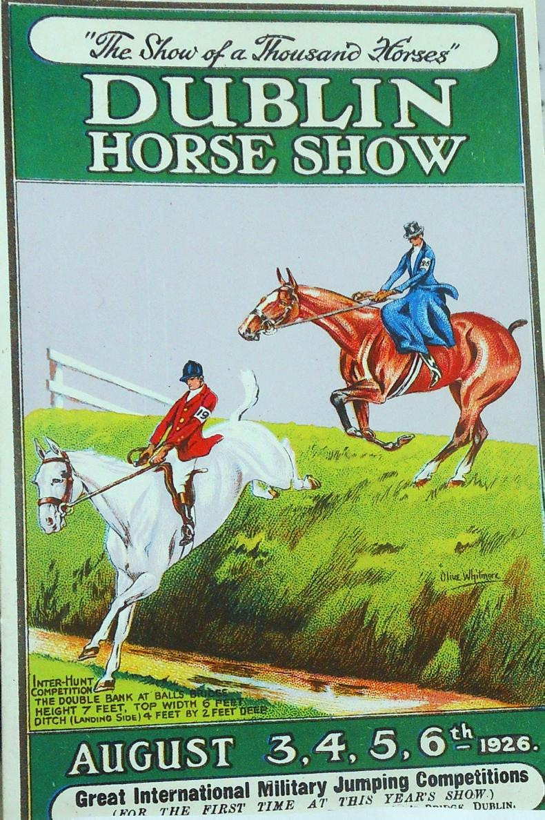 DUBLIN HORSE SHOW PREVIEW:  'The show of a thousand horses'