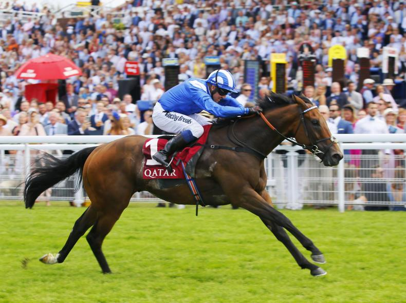 GOODWOOD FRIDAY: Battaash speeds to three in a row