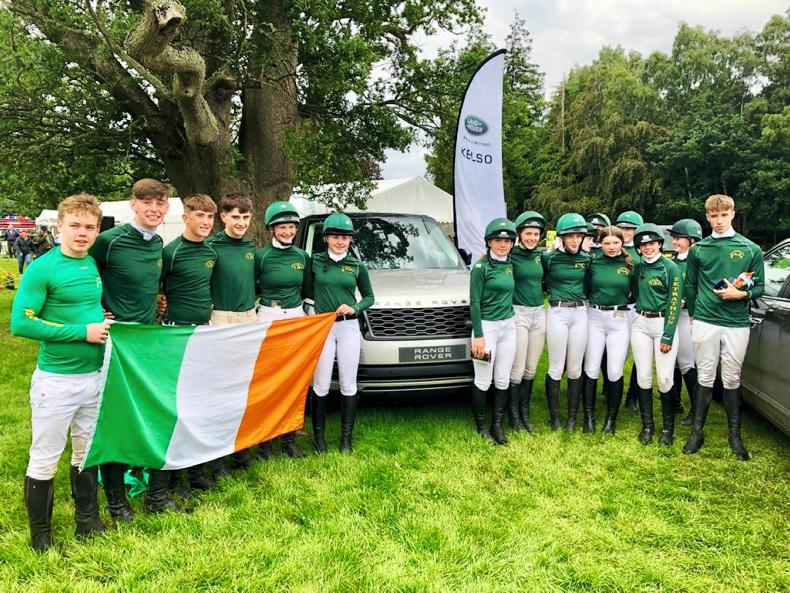 IRISH PONY CLUB:  Irish win big on Scottish soil