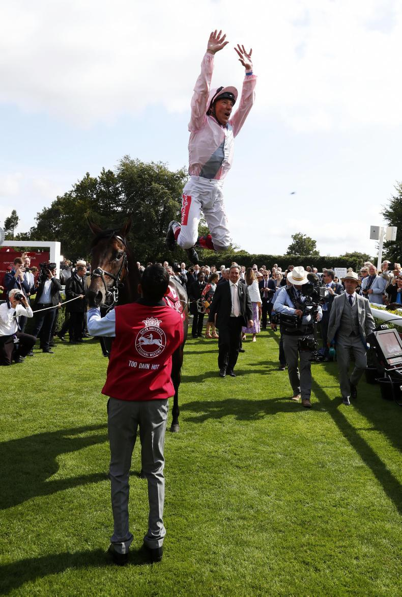 SIMON ROWLANDS: The summer of Dettori