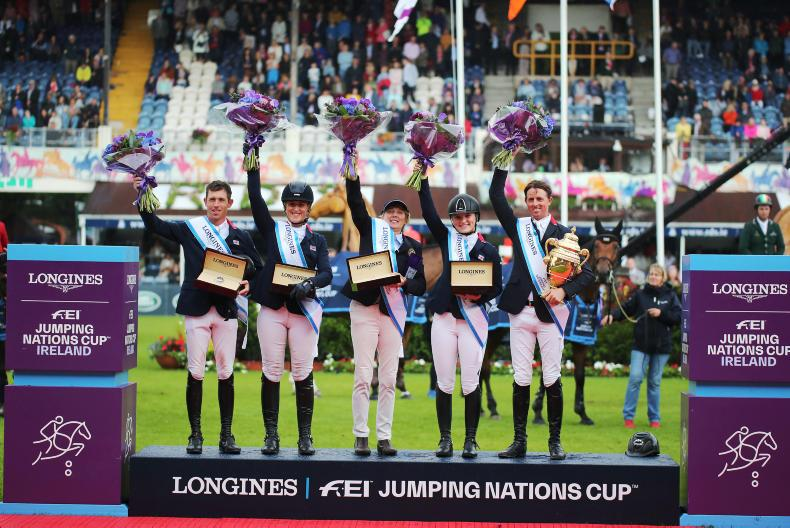 AGA KHAN NATIONS CUP:   Britain are comeback kings in Dublin