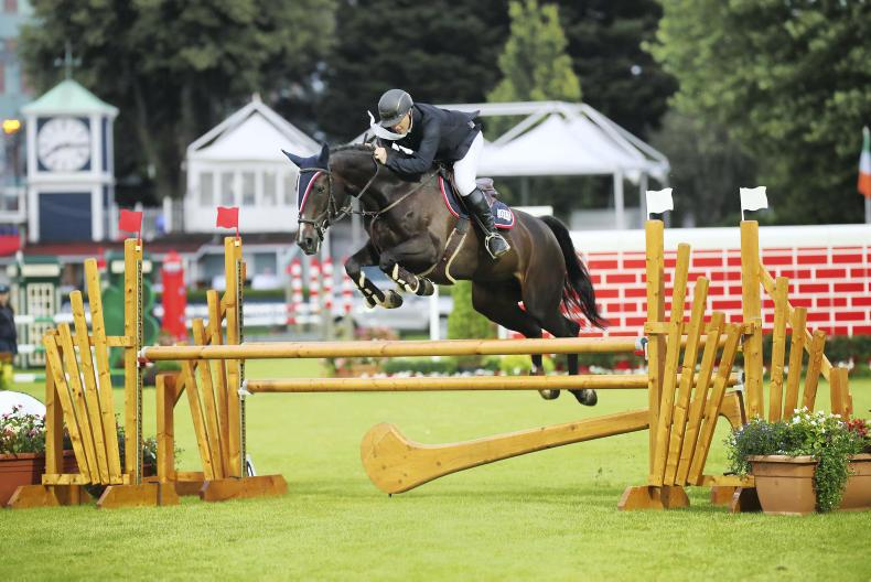 DUBLIN HORSE SHOW 2019:  Cocktail celebrations for Gilmartin