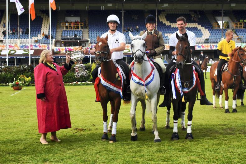 DUBLIN HORSE SHOW 2019:  New format sees Kildare team triumph