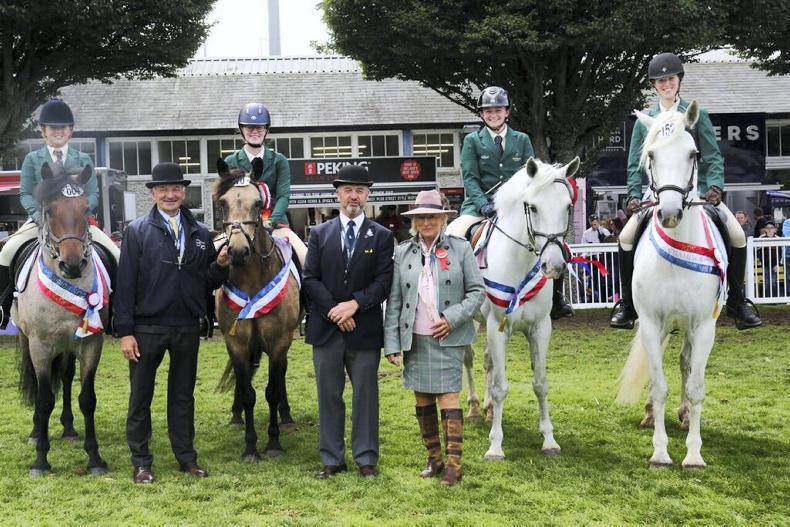 DUBLIN HORSE SHOW 2019:  Third triumph for gallant Irish