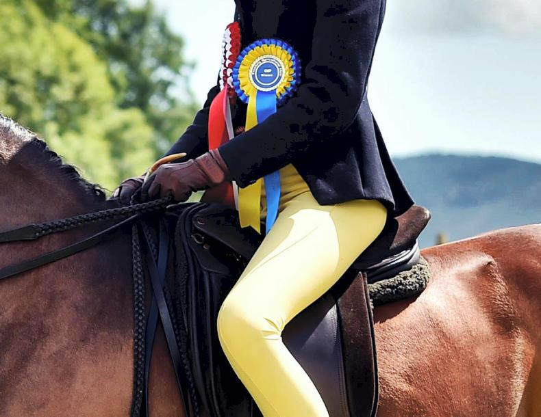DUBLIN HORSE SHOW 2019:  Mackey and Field in the ribbons