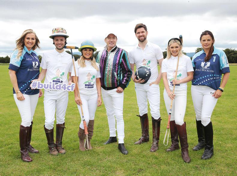 PARROT MOUTH: Celebrities saddle up for ladies polo