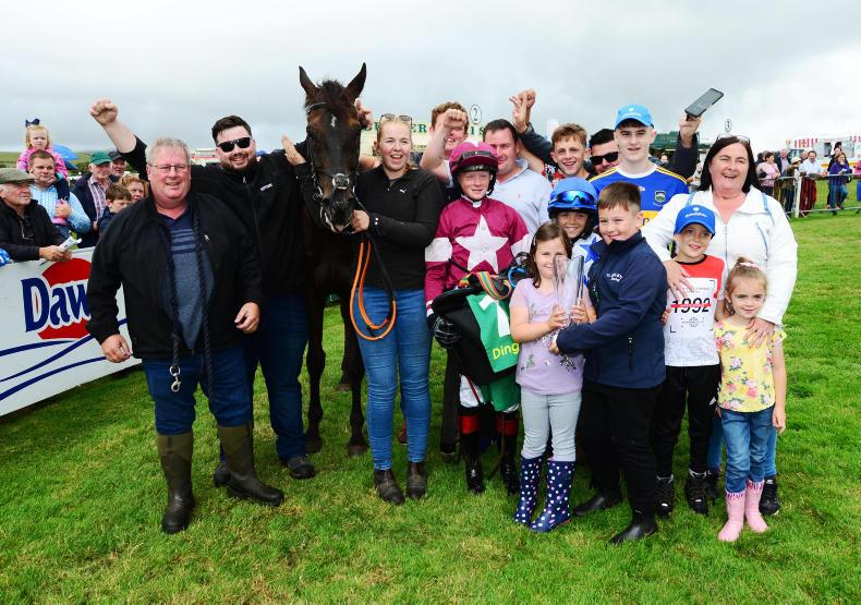 PONY RACING: Sam Ewing in unstoppable form