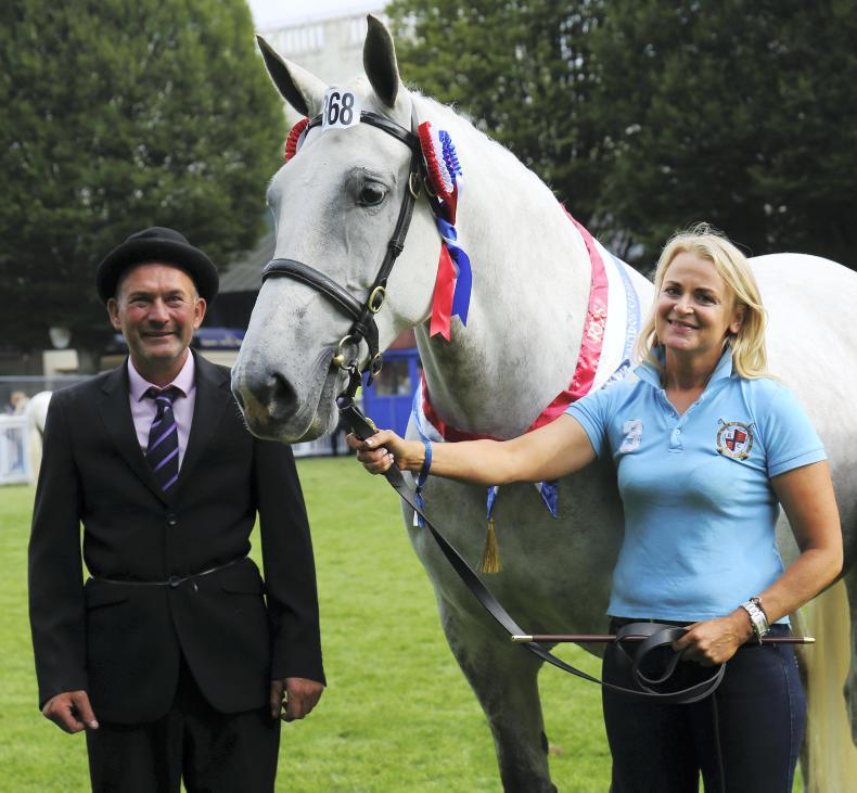 DUBLIN HORSE SHOW 2019: Murphy's Princess wears her crown