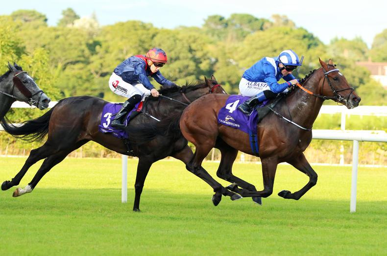 LEOPARDSTOWN THURSDAY: Madhmoon back on top