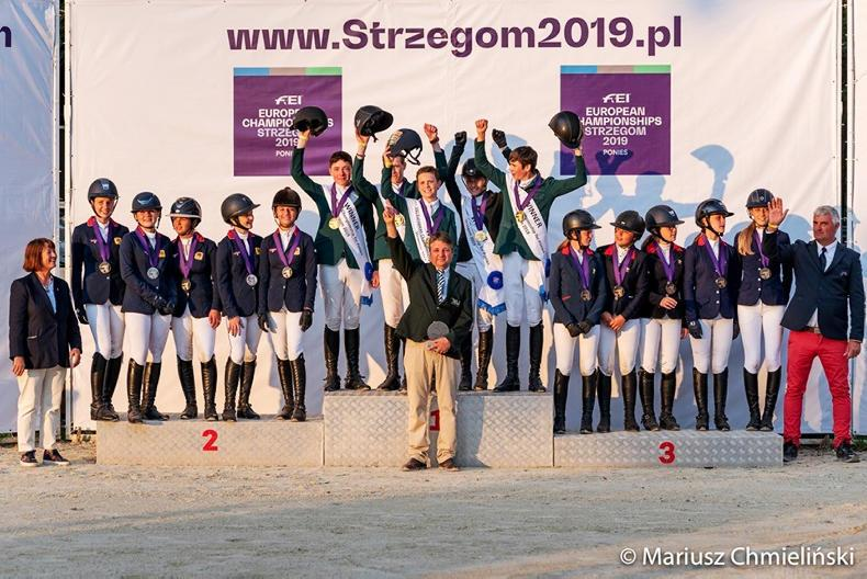 SHOW JUMPING:  Gold medal for gallant Irish pony team