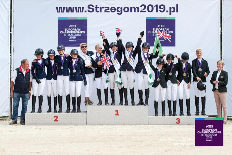 EVENTING: Bronze medal for Irish pony team