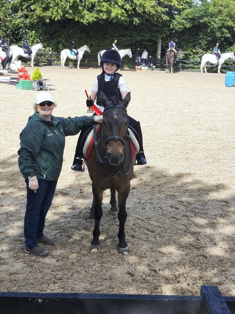 PONY TALES:   Well done Georgia and Copper!