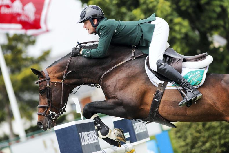 SHOW JUMPING: Olympic qualification within Ireland's grasp in Rotterdam